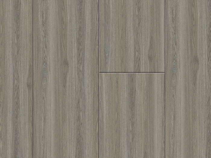 Rustic Gray Brown floating wood plank plank wpc click lock snap waterproof 12 mil wear layer