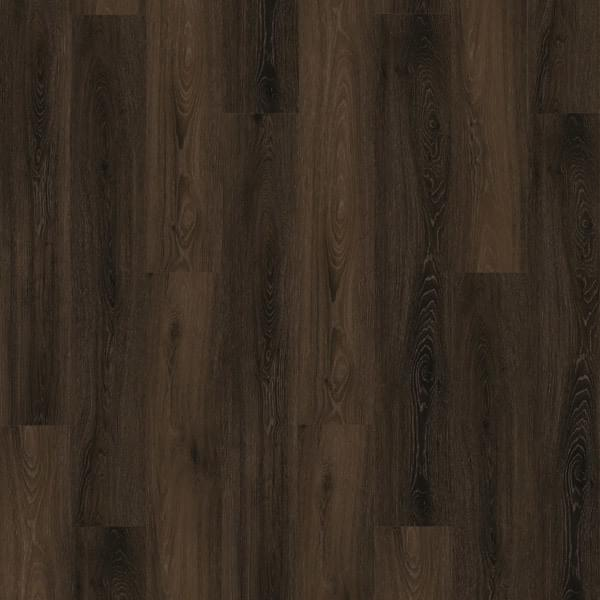 Dark Wood Grain Vinyl Click Lock Planking Wholesale Pricing 22 Mil Wear Layer Commercial Grade Industriial Click Lock Cheap Price COMO Bruno Noce