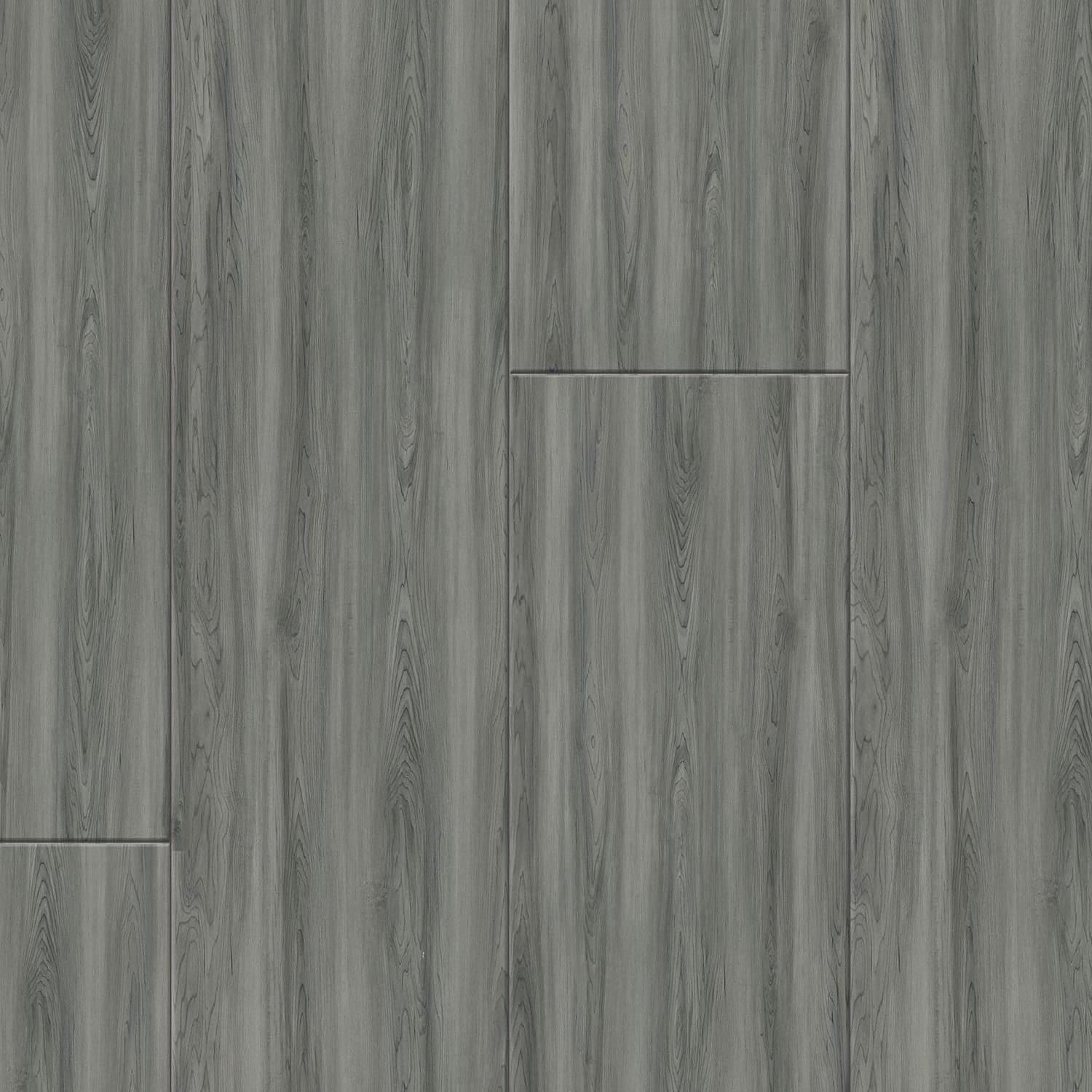 Avenue Gallery Northern Smoke gray floating wood plank plank wpc silver grey click lock snap